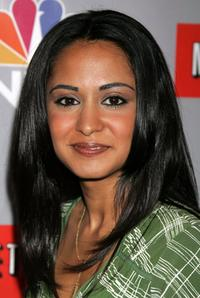 Parminder K. Nagra at the NBC All-Star Event.