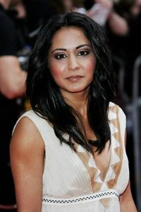Parminder K. Nagra at the Pioneer British Academy Television Awards.
