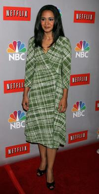 Parminder Nagra at the NBC All-Star Event.