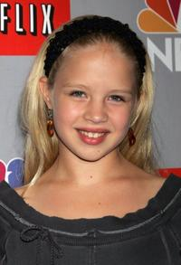 Sofia Vassilieva at the NBC All-Star Event.