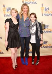 Sofia Vassilieva, Cameron Diaz and Abigail Breslin at the 18th Annual MTV Movie Awards.