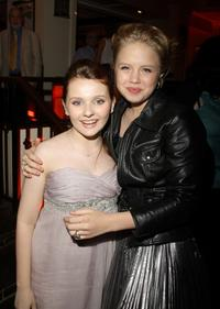 Abigail Breslin and Sofia Vassilieva at the after party of the New York premiere of