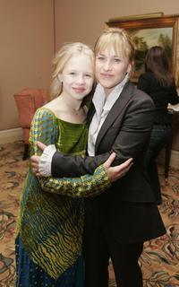 Sofia Vassilieva and Patricia Arquette at the NBC TCA Party.