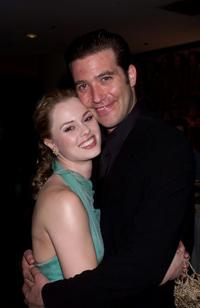 Kate Levering and Craig Bierko at the post opening party of