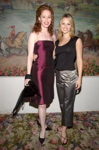 Mylinda Hull and Kate Levering at the after party of