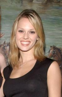 Kate Levering at the after party of