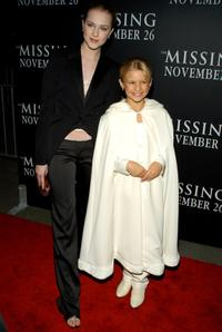 Evan Rachel Wood and Jenna Boyd at the premiere of