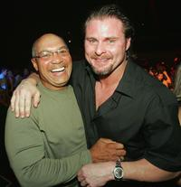 Reggie Jackson and Jason Giambi at the
