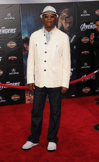 Samuel L. Jackson at the California premiere of