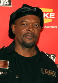Samuel L. Jackson at the 4th Annual Spike TV 2006 Video Game Awards.