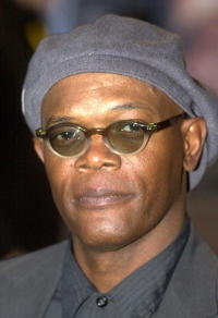 Samuel L. Jackson at the London premiere of