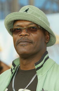 Samuel L. Jackson at the 2005 MTV Movie Awards.