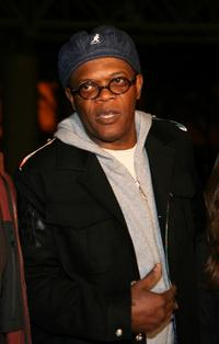 Samuel L. Jackson at the promotion