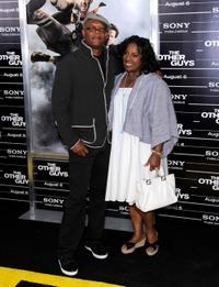 Samuel L. Jackson and Latanya Richardson at the New York premiere of