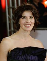 Irene Jacob at the European Film Awards ceremony.