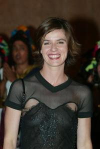 Irene Jacob at the Marrakesh Film Festival.