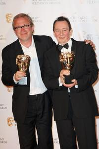 Harry Enfield and Paul Whitehouse at the BAFTA Television Awards 2009.