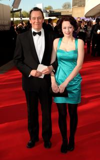 Paul Whitehouse and Guest at the BAFTA Television Awards 2009.