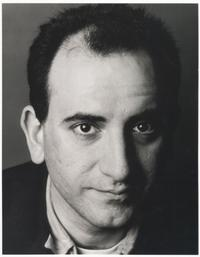 Director Armando Iannucci on the set of