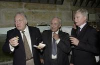 Derek Jacobi, Crown Donald Sinden and Ian Richardson at the Sydney premiere of