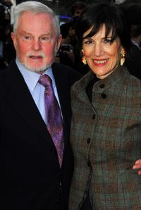 Derek Jacobi and Harriet Walter at the UK premiere of