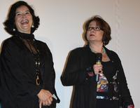 Josiane Balasko and Marie-Jose Nat at the opening ceremony of the 18th British Film Festival.