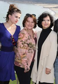 Josiane Balasko, Cecile Kassel and Marie-Jose Nat at the Jury photocall of the 18th British Film Festival.