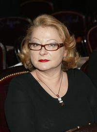 Josiane Balasko at the Chatelet theatre in Paris to participate to the 29th Nuit des Cesars.