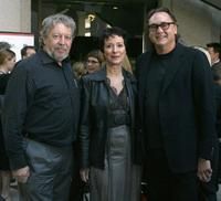 Andrew Urban, Anna Maria Monticelli and Steve Jacobs at the official launch of Sydney Film Festival.