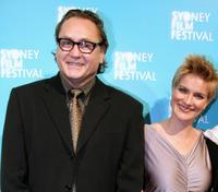Steve Jacobs and Jessica Haines at the official Sydney Film Festival gala opening of