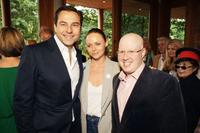 David Walliams, Stella McCartney and Matt Lucas at the Meat Free Monday Launch.