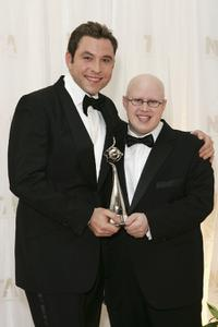 David Walliams and Matt Lucas at the National Television Awards 2006.