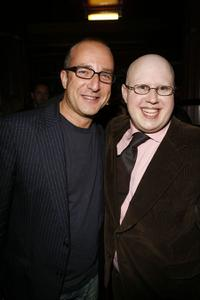 Paul McKenna and Matt Lucas at the after party of the opening night of