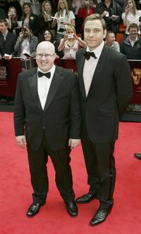 Matt Lucas and David Walliams at the Pioneer British Academy Television Awards 2006.