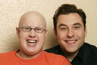 Matt Lucas and David Walliams at the promotion of