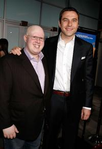 Matt Lucas and David Walliams at the premiere of