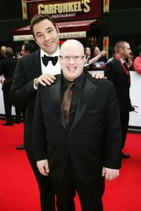 David Walliams and Matt Lucas at the British Academy Television Awards.