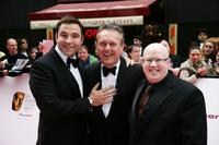 David Walliams, Anthony Head and Matt Lucas at the British Academy Television Awards.