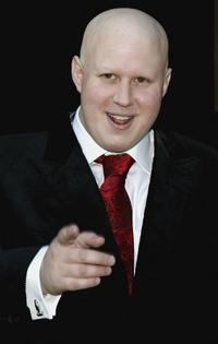 Matt Lucas at the Civil Partnership Ceremony.