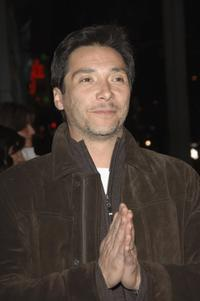 Benito Martinez at the premiere of