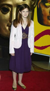 Bonnie Wright at the British Academy Children's Film and Television Awards.