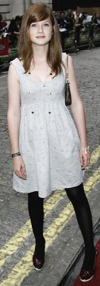 Bonnie Wright at the premiere of