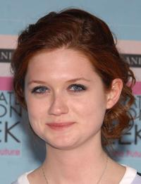 Bonnie Wright at the Graduate Fashion Week Gala Show.