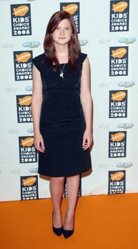Bonnie Wright at the Nickelodeon Kids' Choice Awards UK 2008.