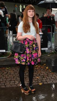 Bonnie Wright at the UK premiere of