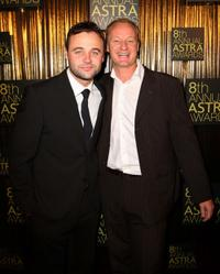 Gyton Grantley and Rob Carlton at the 8th Annual ASTRA Awards.