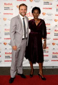 Gyton Grantley and Deni Hines at the 2009 Kodak Inside Film Awards.