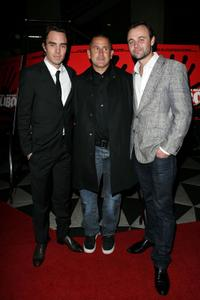 Damon Gameau, Anthony LaPaglia and Gyton Grantley at the screening of