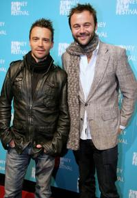 Damian Walshe-Howling and Gyton Grantley at the official Sydney Film Festival gala opening of