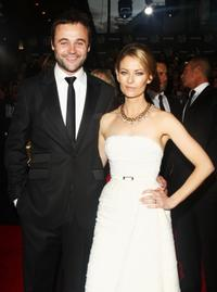 Gyton Grantley and Kat Stewart at the 51st TV Week Logie Awards.
